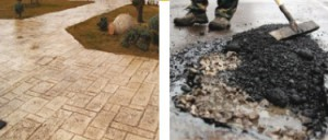 Отличие бетона от асфальта