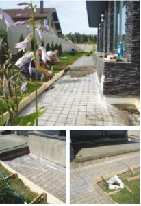 Штампованый бетон